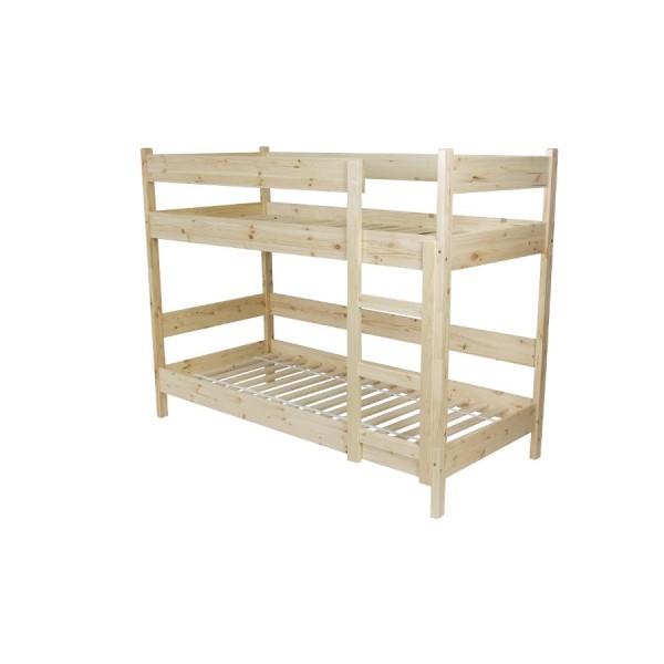 Poschoďová postel B081 - masiv borovice